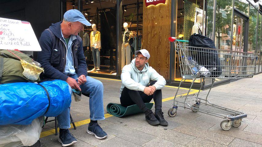 """Tobi Wegener in """"Prominent und obdachlos"""""""