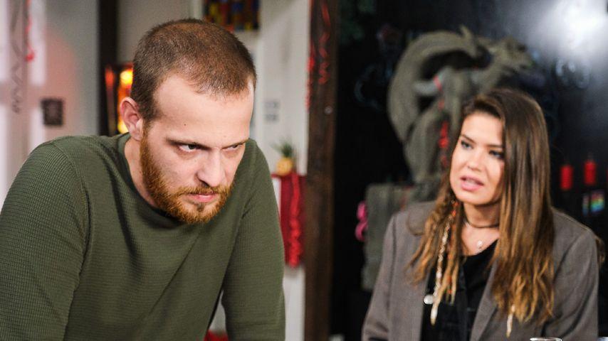"""Tobias (Patrick Müller) und  Vivien (Sharon Berlinghoff) bei """"Unter uns"""""""