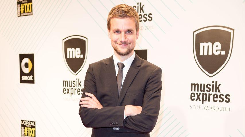 Moderator Tobias Schlegl beim Musikexpress Style Award 2014 in Berlin