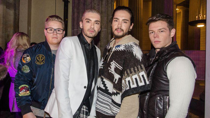 Tokio Hotel am Silvesterabend 2014/2015