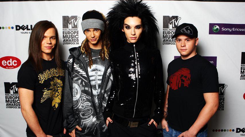Tokio Hotel im November 2008