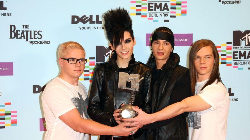 Tokio Hotel im November 2009 in Berlin