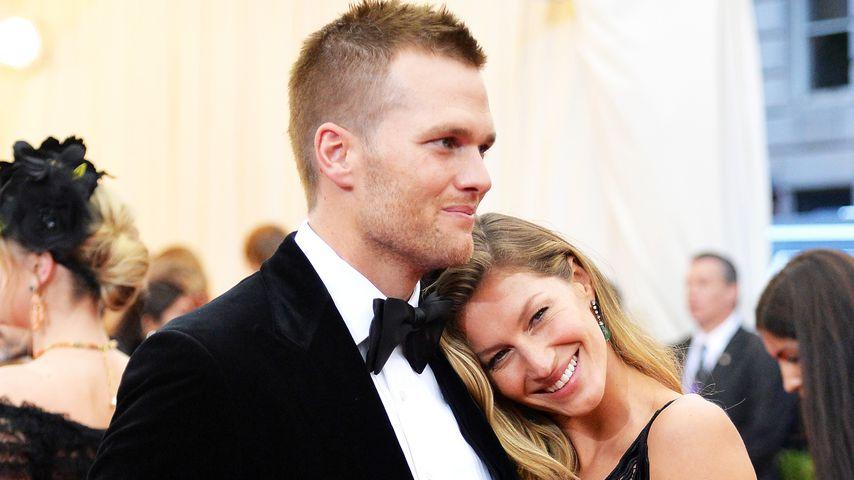 Tom Brady und Gisele Bündchen im Mai 2014