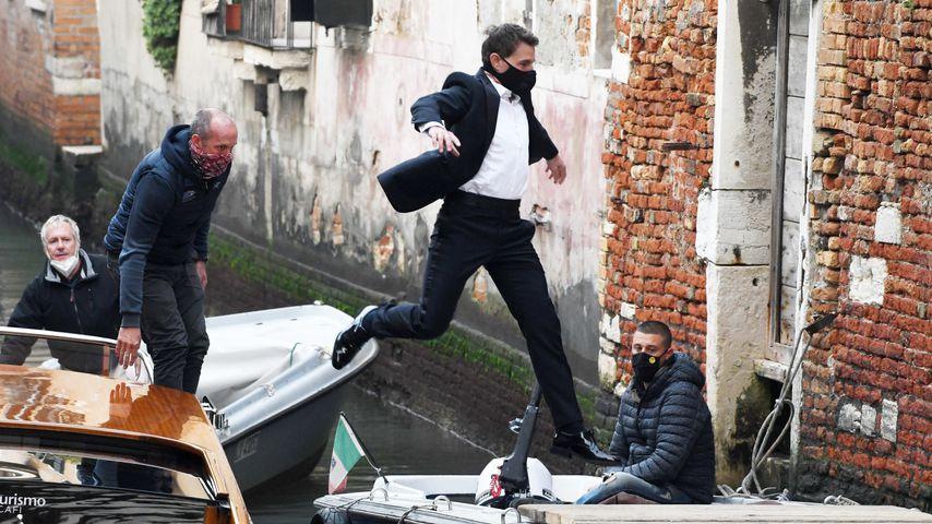 """Endlich: Tom Cruise ist zurück am """"Mission: Impossible""""-Set"""