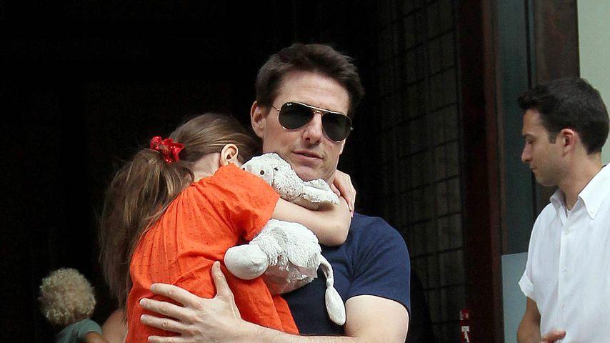 Tom Cruise mit Töchterchen Suri, Juli 2012