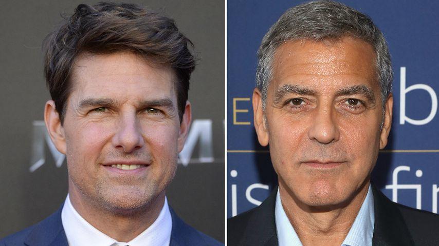 George Clooneys Schock-Crash: Rührende Worte von Tom Cruise!