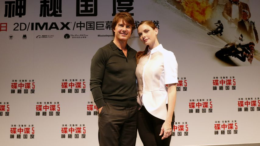 Tom Cruise und Rebecca Ferguson