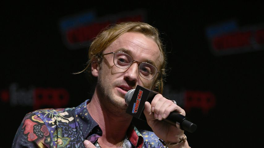 Tom Felton bei der New York Comic Con