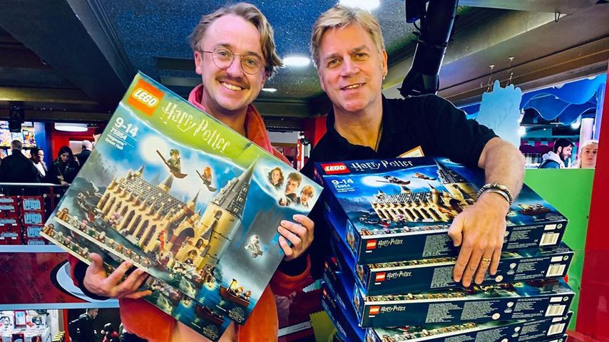 Tom Felton und Mark Oflego