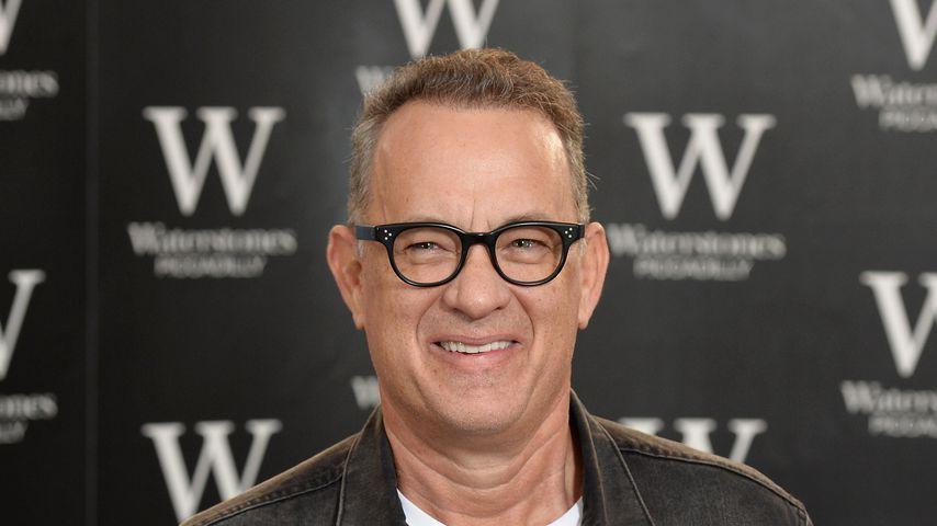 """Tom Hanks bei der Vorstellung seines Buches """"Uncommon Type"""" in London 2017"""