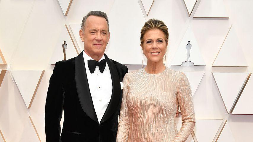 Tom Hanks und Rita Wilson im Februar 2020