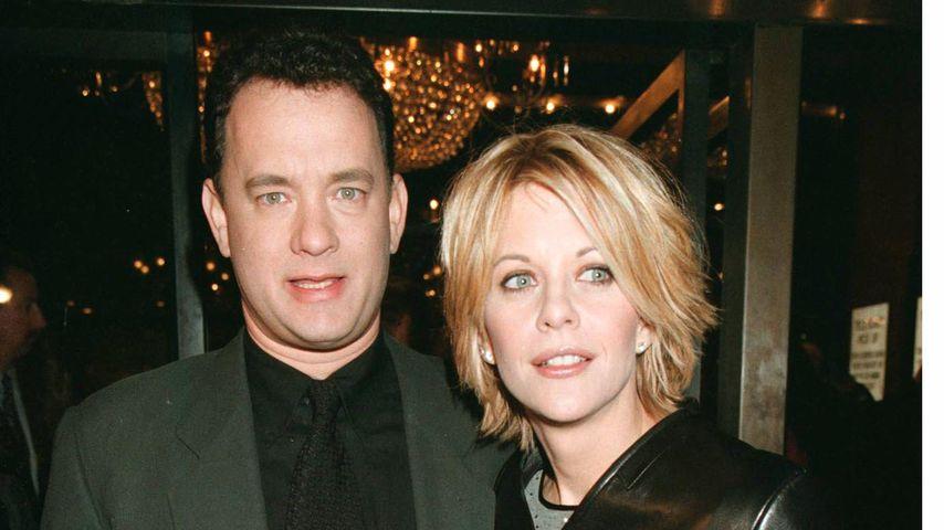 """Tom Hanks und Meg Ryan bei der Premiere von """"E-Mail für Dich"""" in New York"""