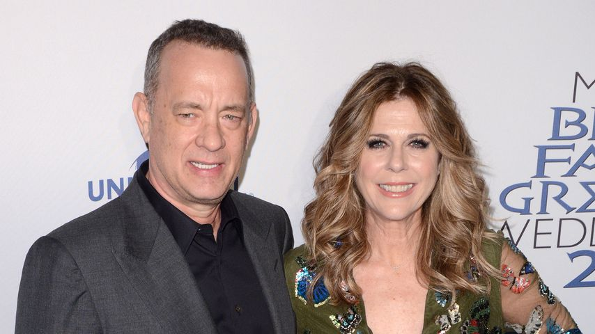 "Tom Hanks und Rita Wilson bei der ""My Big Fat Greek Wedding 2""-Premiere in New York im März 2016"