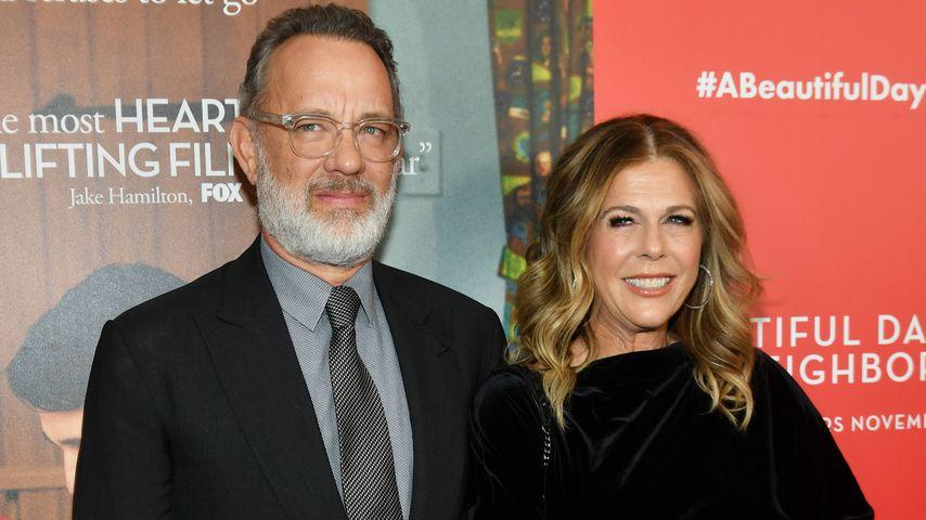 """Tom Hanks und Ehefrau Rita Wilson beim Screening von """"Der wunderbare Mr. Rogers"""""""