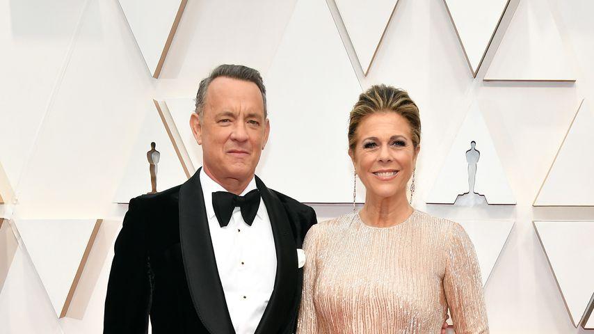 Tom Hanks und Rita Wilson bei den Oscars 2020