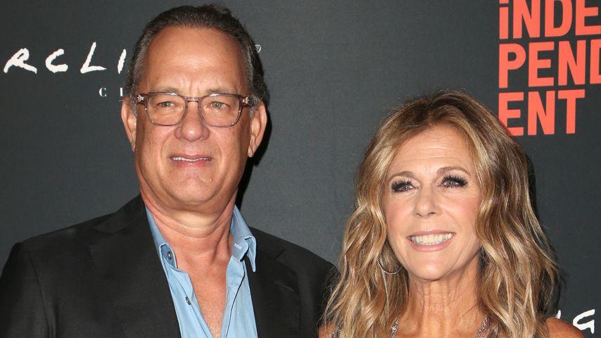 Tom Hanks und Rita Wilson während des L.A. Film Festivals im Oktober 2018
