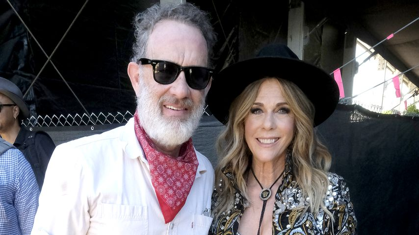 Tom Hanks and Rita Wilson im Jahr 2019