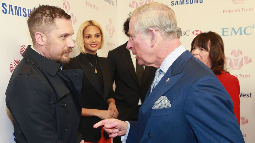 Ärger von Prinz Charles: Was hat Tom Hardy nur angestellt?