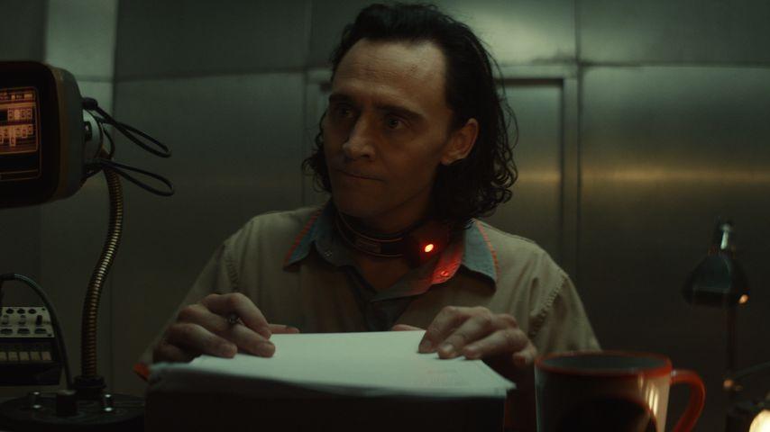 """Tom Hiddleston als Loki in der Marvel-Serie """"Loki"""""""