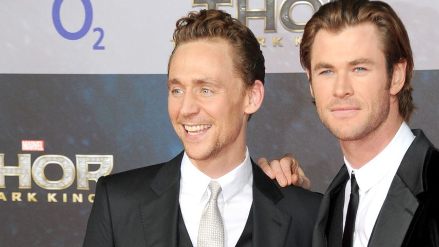 "Loki lobt! Tom Hiddleston: ""Chris ist ein Gott!"""