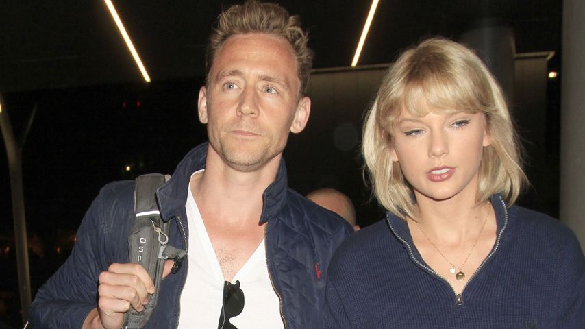Tom Hiddleston & Taylor Swift am Flughafen von L.A.