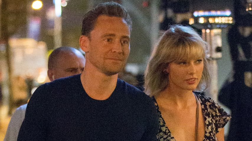 Tom Hidlleston und Taylor Swift in Gold Coast, Australien