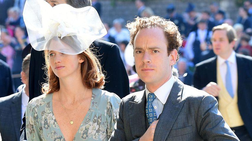 Tom Inskip und seine Frau Lara bei der Hochzeit von Prinz Harry und Herzogin Meghan
