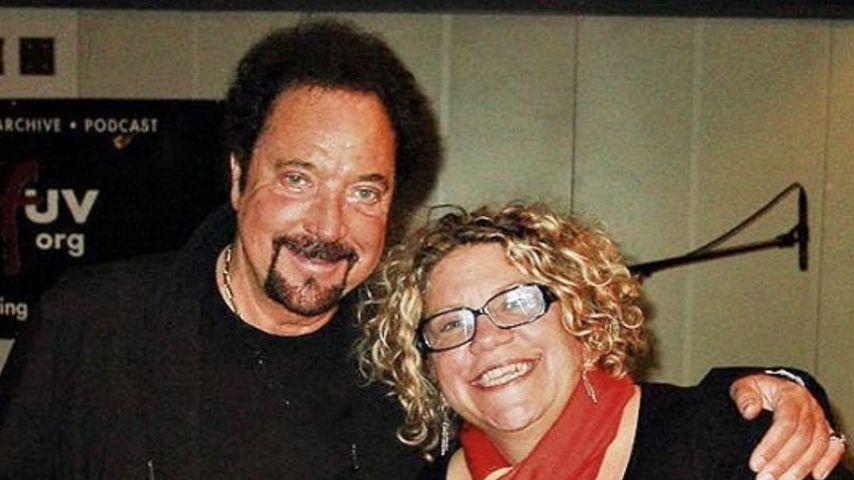Sänger Tom Jones und Radiomoderatorin Rita Houston