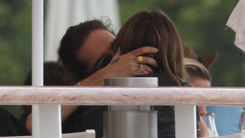 Tom Kaulitz und Heidi Klum im Mai 2018 in Frankreich
