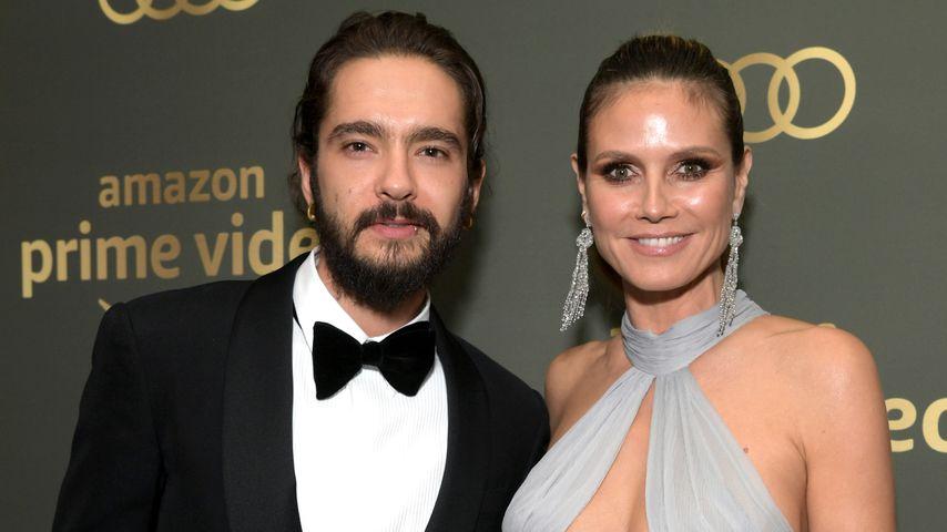 Tom Kaulitz und Heidi Klum bei den Amazon Prime Video's Golden Globe Awards
