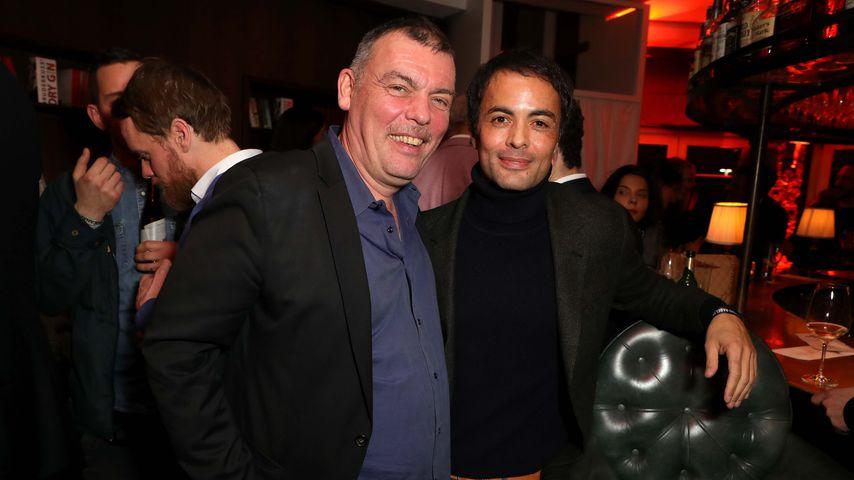 Tom Zickler und Nikolai Kinski bei einem Event in Berlin