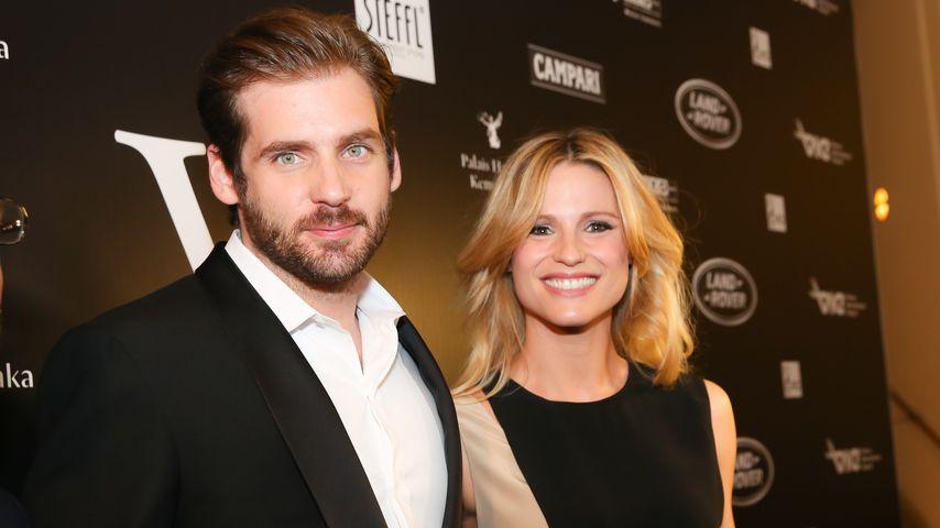 Tomaso Trussardi und Michelle Hunziker bei den Vienna Awards 2014