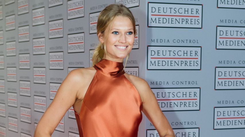 Toni Garrn beim Deutschen Medienpreis, 2016