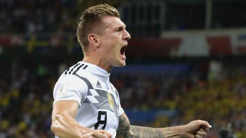 Toni Kroos beim zweiten WM-Gruppenspiel gegen Schweden