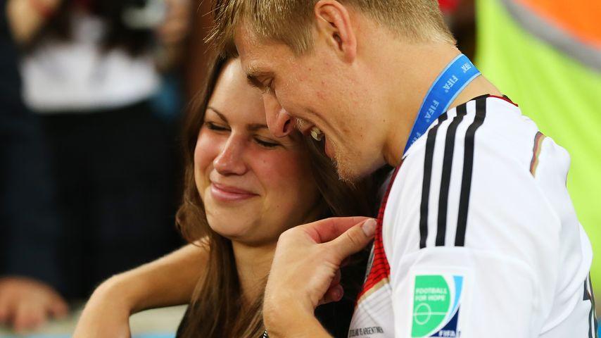 Zum Hochzeitstag: So süß überrascht Toni Kroos seine Jessica