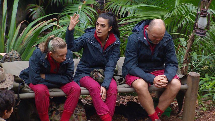 Toni Trips, Elena Miras und Sven Ottke an Tag drei im Dschungelcamp