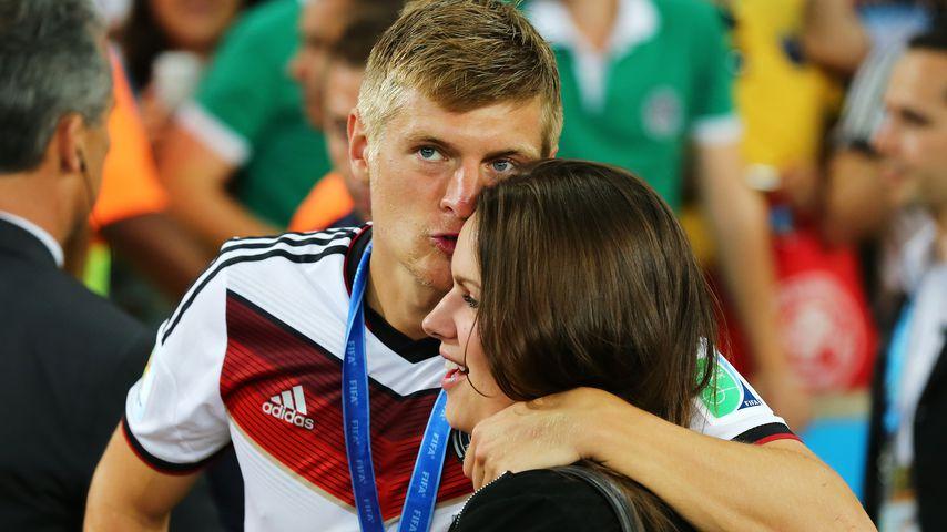 Kurz vor WM: Süße Liebesgrüße von Toni Kroos' Frau Jessica