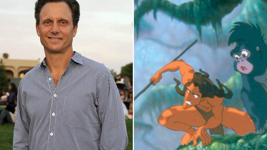 Collage: Tony Goldwyn, Tarzan