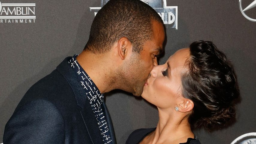 Tony Parker und Axelle Francine