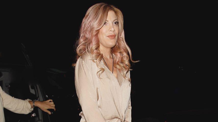 Tori Spelling bei Dreharbeiten für ihre Realityshow