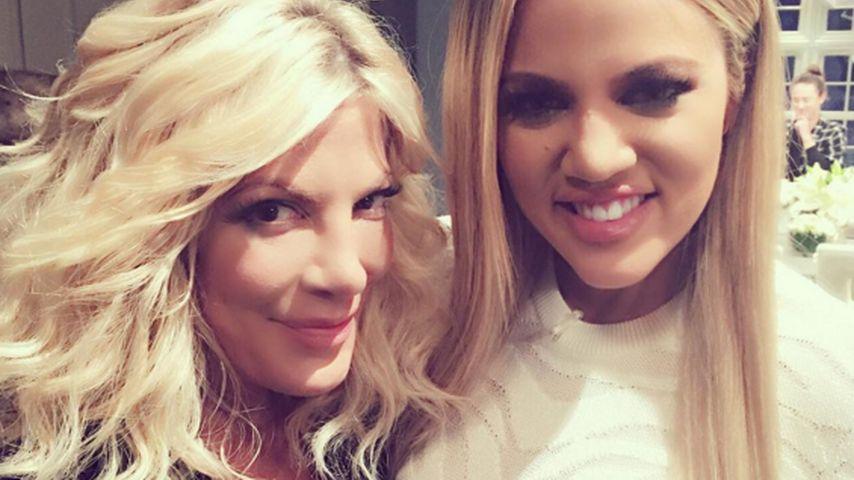 Khloe Kardashian und Tori Spelling