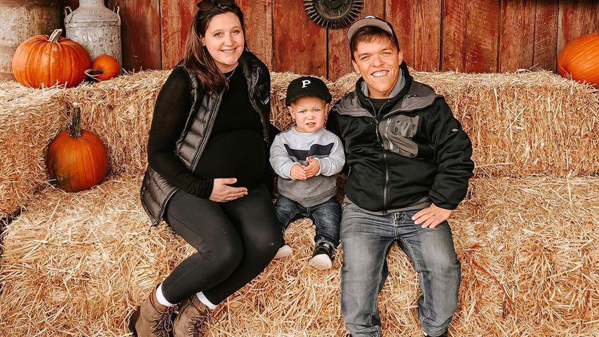 Tori und Zach Roloff mit ihrem gemeinsamen Sohn, Oktober 2019