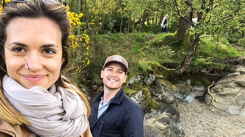 Torrey DeVitto und Jesse Lee Soffer in Schottland, 2018