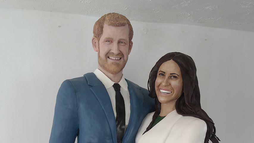 Zuckersüß: Prinz Harry & seine Meghan als lebensgroße Torte