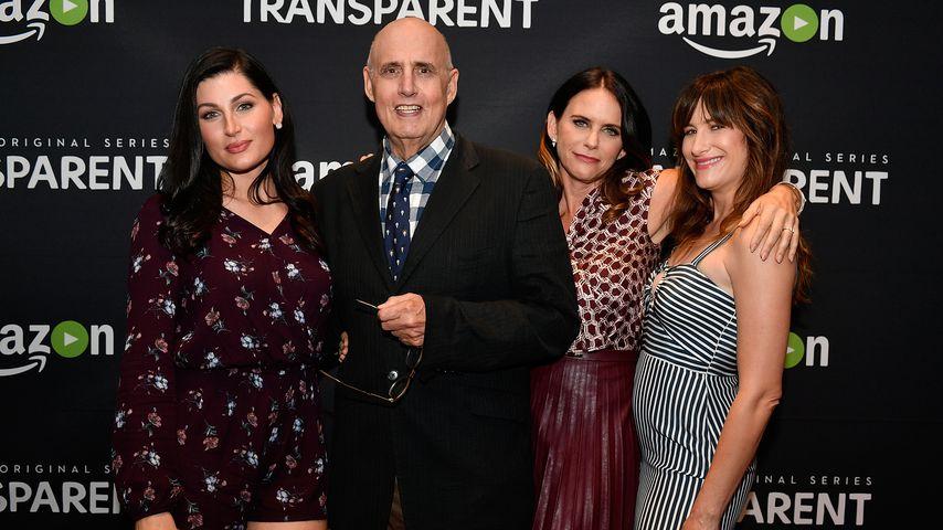 """Trace Lysette, Jeffrey Tambor, Amy Landecker und Kathryn Hahn beim """"Transparent""""-Screening 2016"""