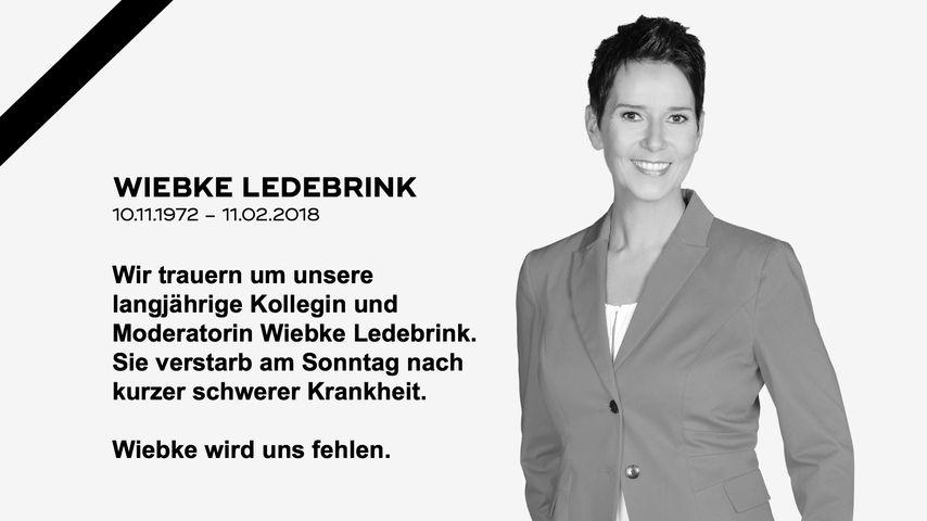 Qvc Moderator Gestorben: Kurz Vor Tod: Sat. 1-Star Wiebke Ledebrink War So