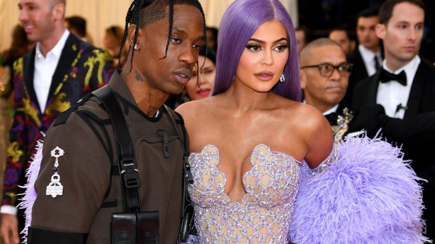 Travis Scott und Kylie Jenner in New York im Mai 2019