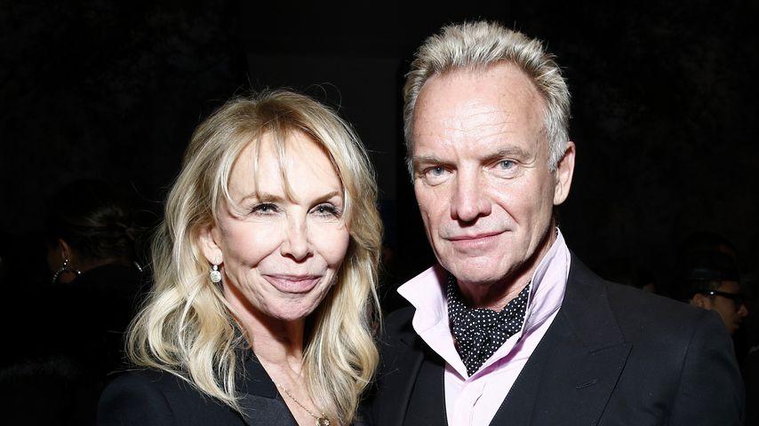 Trudie Styler und Sting im Januar 2018