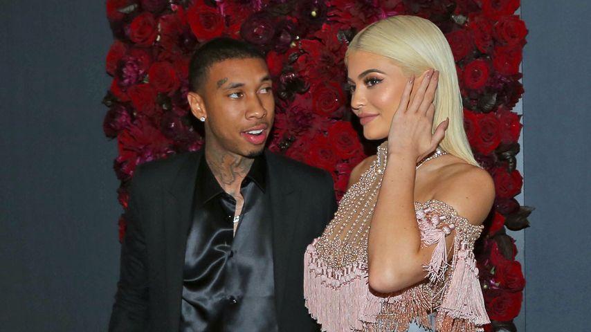 """Rapper Tyga und Kylie Jenner bei der """"Harper's Bazar""""-Party in New York"""
