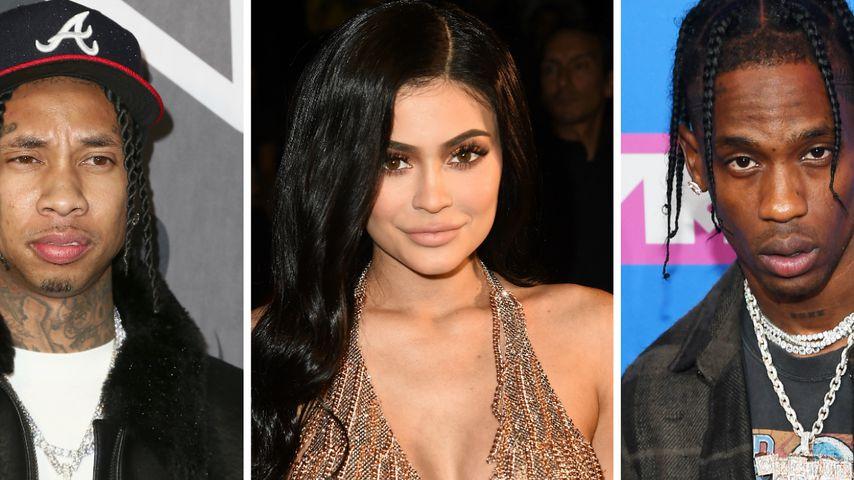 Kylie Jenner feiert mit Tyga und Travis auf selber Party